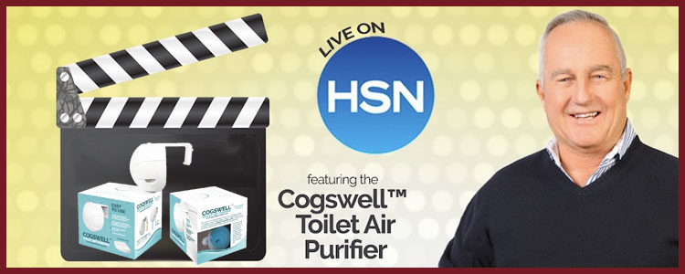 My Client David Cogswell's Toilet Air Purifier Debuts on the Home Shopping Network!